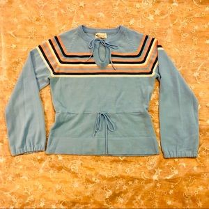 Aaah-maxing Vintage Cinch Waist 70s sweater Sz M